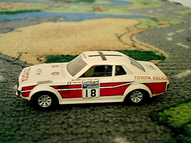 toyota celica  18 rally d angleterre 1977  u00b7 miniatures a